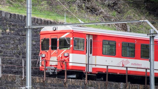Zug der Matterhorn-Bahn.