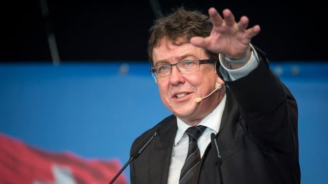 Albert Rösti, cusseglier naziunal PPS Berna