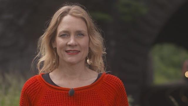 Kulturplatz-Moderatorin Eva Wannenmacher.