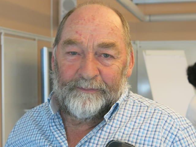 Oskar Lötscher vom Freiburger alpwirtschaftlichen Verein.