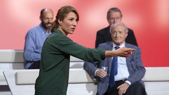 In den Nationalrat, nicht aber ins Stöckli gewählt: Greta Gysin.