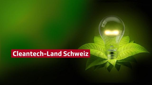 Key Visual Cleantech-Land Schweiz