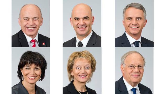 6 Bundesräte