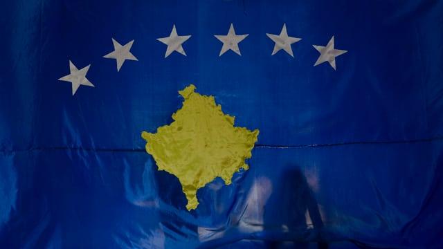 Bandiera Cosovo.