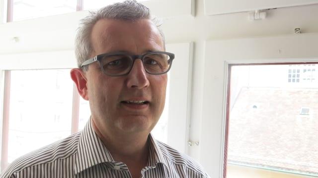 Peter Siegenthaler, Amateurtheater-Präsident Bern Freiburg Wallis und Thuner Berufspolitiker.