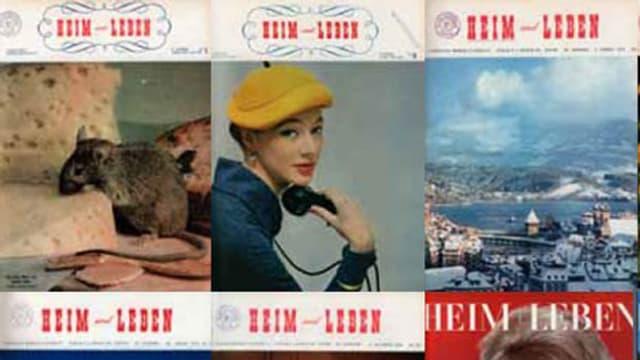 Alter Covers der Zeitschrift