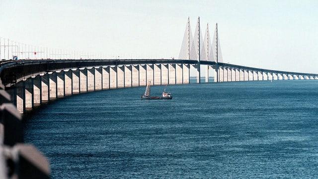 Öresundbrücke zwischen Schweden und Dänemark
