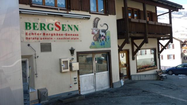 La Bergsenn SA - la chascharia a Savognin.