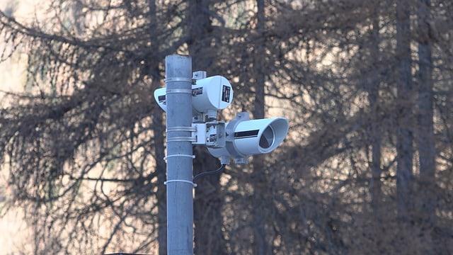 Las cameras che registreschan la temperatura dals animals
