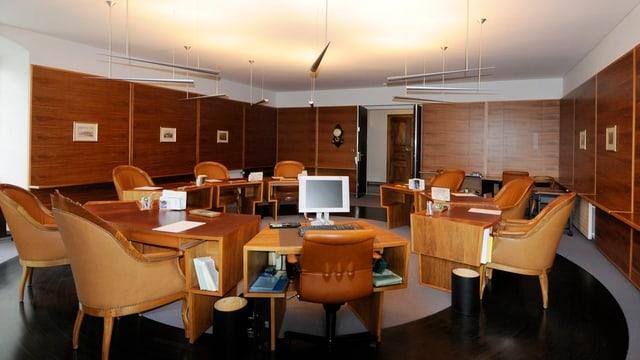 Sitzungszimmer des St. Galler Regierungsrates
