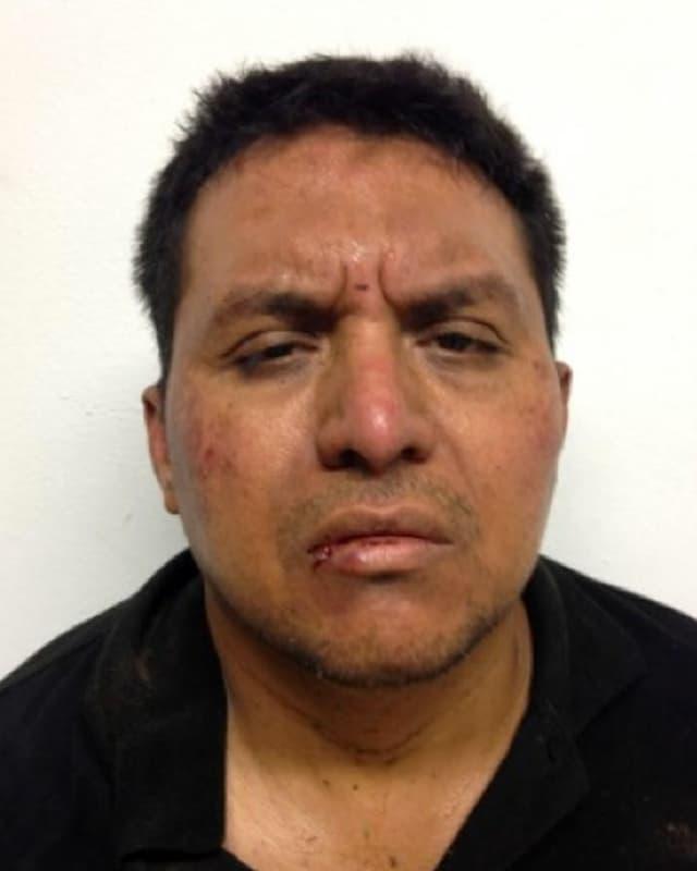Miguel Angel Treviño Morales bei seiner Verhaftung.