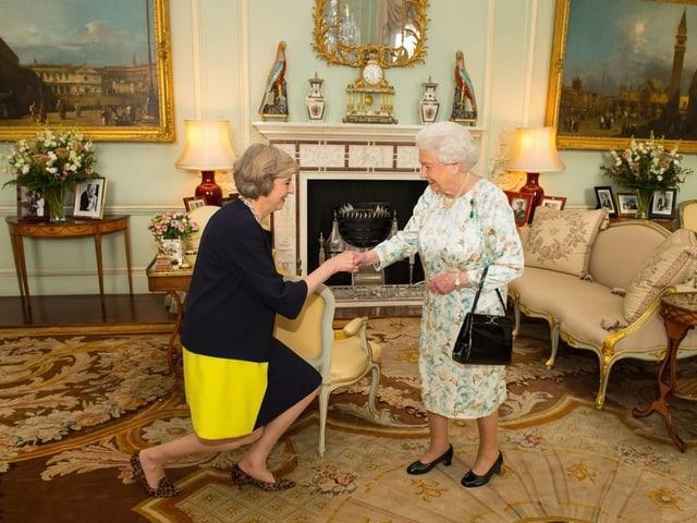 May und die Queen.