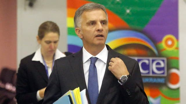 Aussenminister Didier Burkhalter