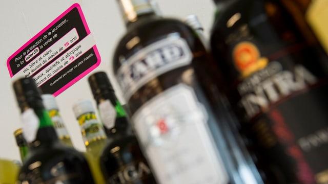 buttiglias d'alcohol