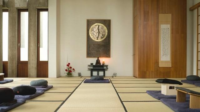 stanza da meditaziun