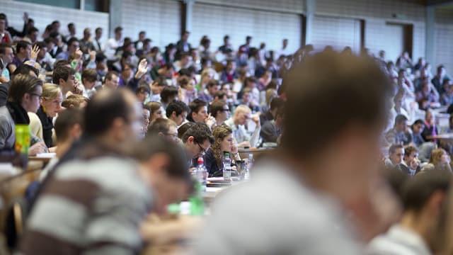 Sala cun massa students.
