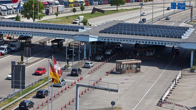 Autobahnzoll Basel-Weil