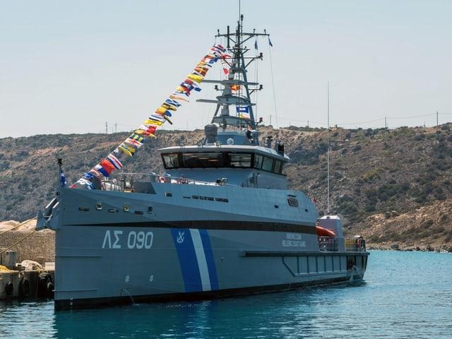 Schiff der griechischen Küstenwache.