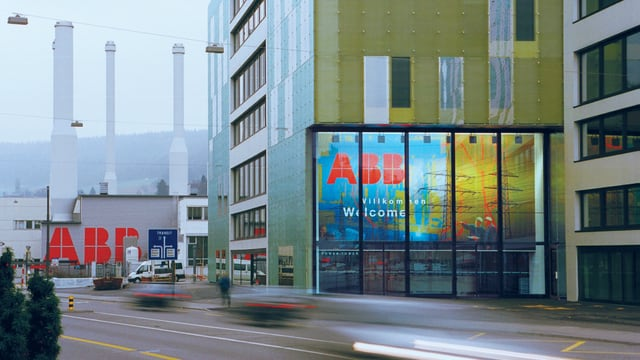 ABB-Powertower in Baden.