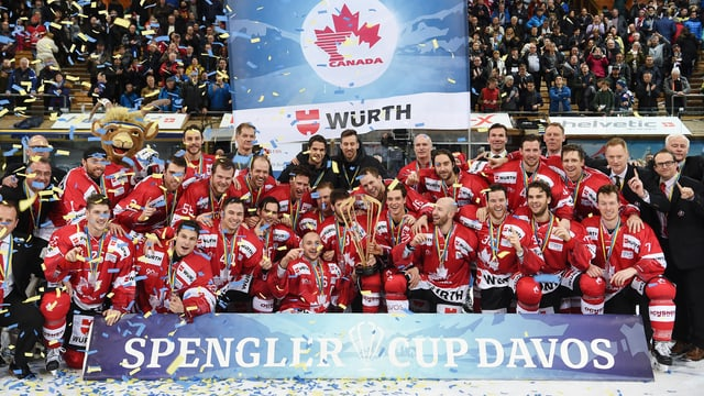 Team Canada gewinnt den Spengler-Cup 2017