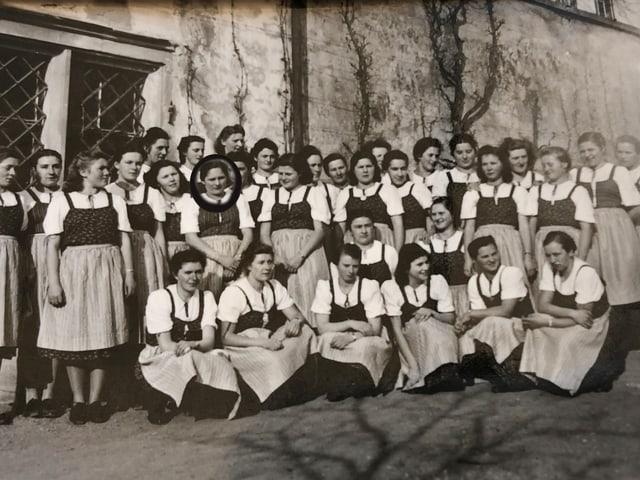 Gruppenbild von Mädchen.