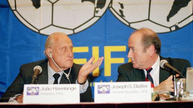 Havelange und Blatter