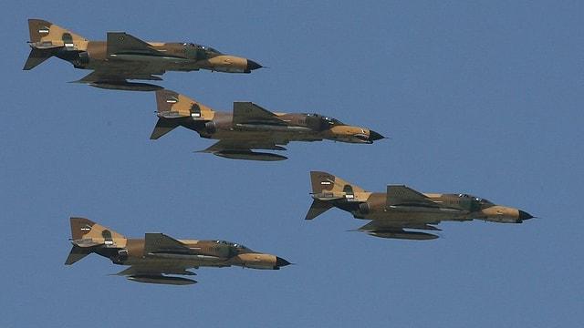 Iranische Luftangriffe