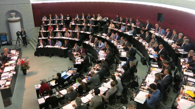 Der Kantonsratssaal (Archivbild).