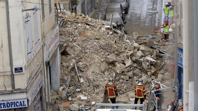 Purtret da las ruinas a Marseille.