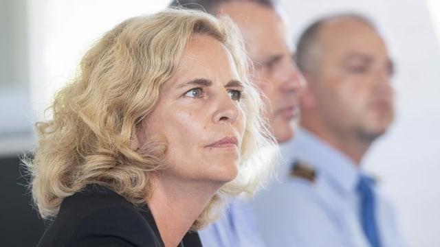 Sicherheitsvorsteherin Karin Rykart