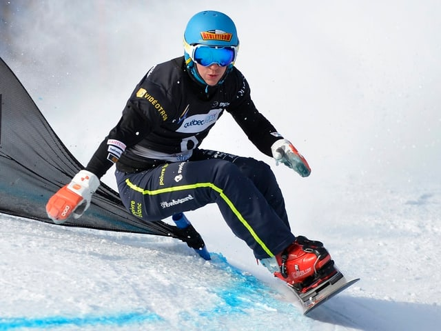 Nevin Galmarini fuhr in Moskau auf den 2. Platz.