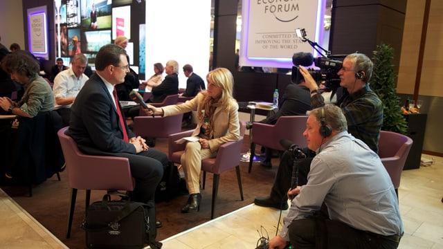 Thomas Jordan im Interview mit Marianne Fassbind