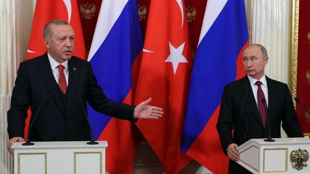 Russland und Türkei stecken ihre Interessen in Syrien ab (Artikel enthält Video)