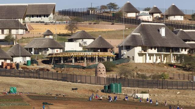 Bild des Anwesens in Südafrika.