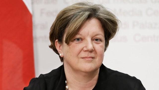 BAK-Direktorin Isabelle Chassot bei einem Interview