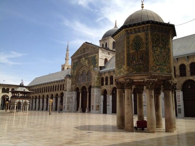 Bild der Umayyadenmoschee