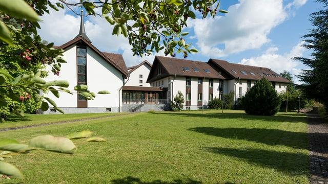 Blick auf die ehemalige Klosteranlage in Rickenbach.