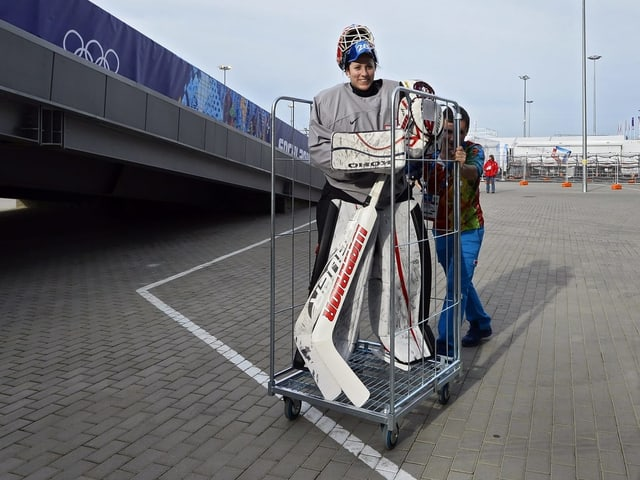 Hockeyspielerin Sophie Anthamatten