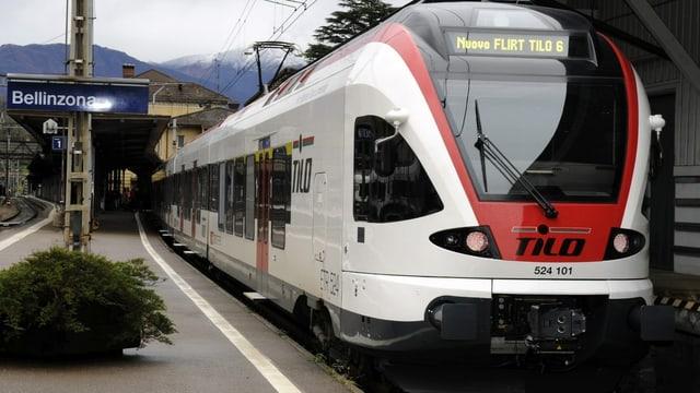 Tren regiunal TILO.