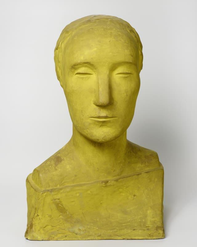 Otto Freundlich: Frauenbüste, 1910.