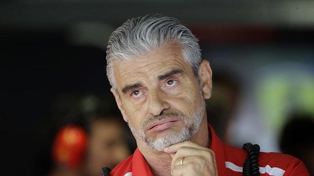 purtret da Maurizio Arrivabene, l'anteriur schef da team da Ferrari