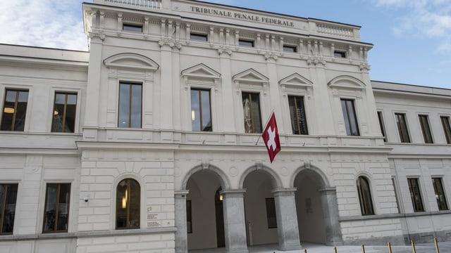 Bajetg dal Tribunal penal federal a Bellinzona.
