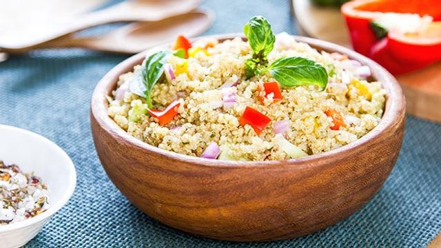 Quinoa-Salat.