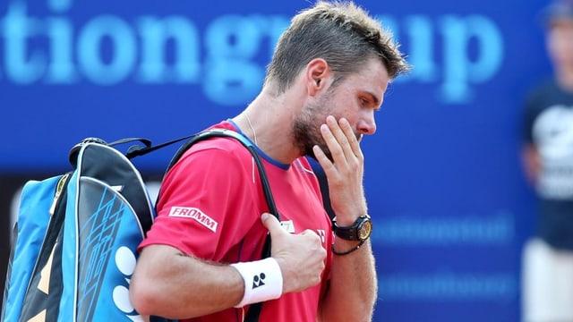 Der Romand verabschiedete sich in Gstaad bereits im Viertelfinal.