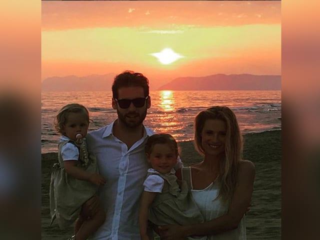 Familie Trussardi-Hunziker im Urlaub