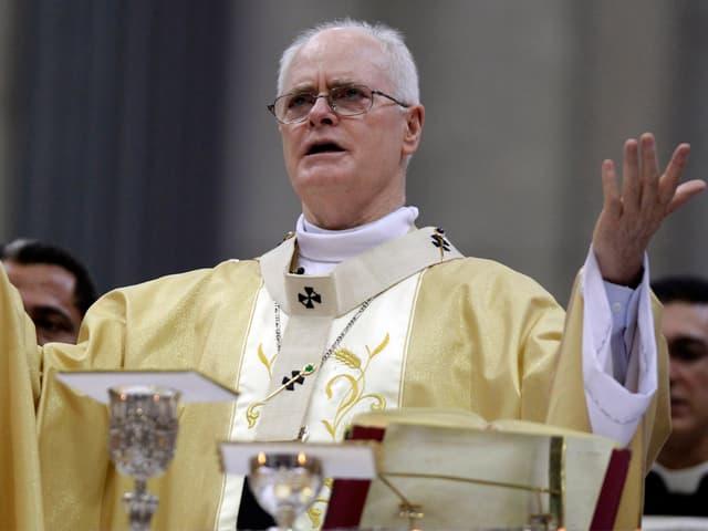 Odilo Pedro Scherer, während einer Messe