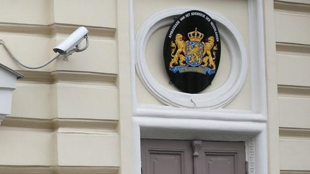 Die niederländische Botschaft in Moskau.