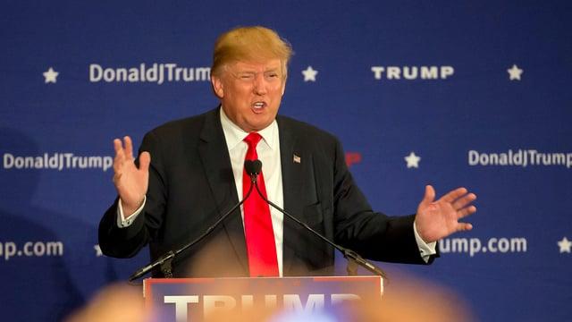 Donald Trump, candidat republican per il presidi american