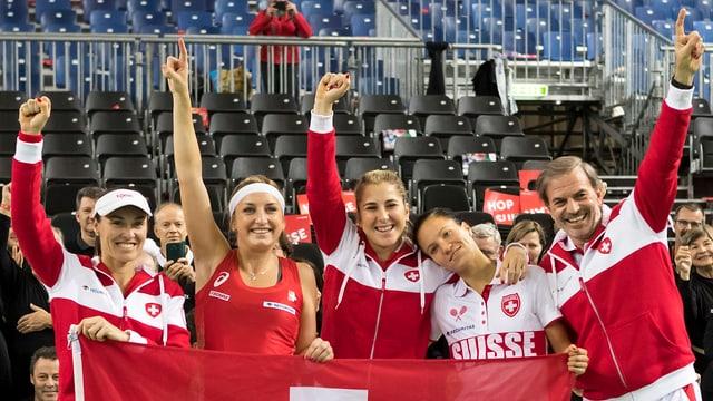 Schweizer Jubel nach dem Viertelfinal-Sieg gegen Frankreich.