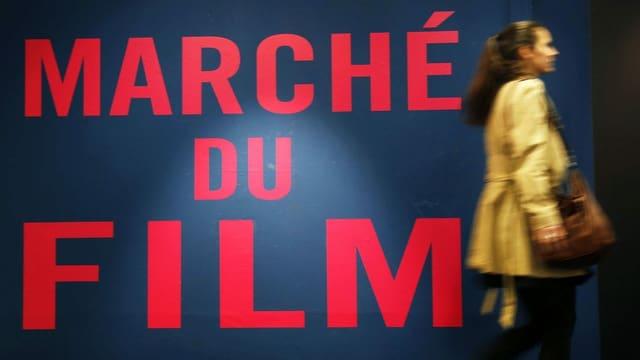 Schrift Marché du Film